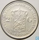 Netherlands 2 ½ gulden 1939
