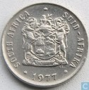 South Africa 10 cents 1977