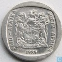 South Africa 2 rand 1989