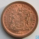 South Africa 5 cents 1990