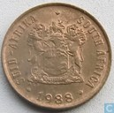 South Africa 1 cent 1988