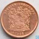 South Africa 2 cents 1996