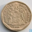 South Africa 50 cents 1994