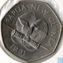 "Papoea-Neues-Guinea 50 Toea 1991 ""9th South Pacific Games"""