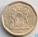 South Africa 10 cents 1991