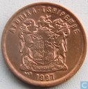 South Africa 2 cents 1997