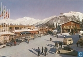 Courchevel, Le centre de la station