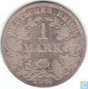 German Empire 1 mark 1874 (H)
