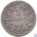 Empire allemand 1 mark 1874 (D)