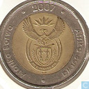 South Africa 5 rand 2007