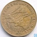 Centraal-Afrikaanse Staten 10 francs 1976