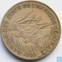 Central African States 10 francs 1983