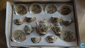 !!VERKEERDE RUBRIEK!! Snow White Tea Set 1930/ 1940