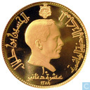 "Jordanien 10 Dinar 1969 (PROOF) ""Papst Paul VI in Jordanien"""