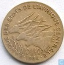 Central African States 10 francs 1984