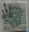 Postage Stamps - Sweden [SWE] - 5 Green