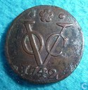 VOC 1 duit 1742 Holland
