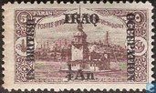 Tower of Leander, overprinted