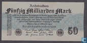 Deutschland 50 Milliarden Mark 1923