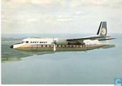 East West Airlines - Fokker F-27