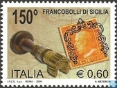 150 years stamps Sicily