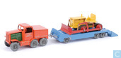 Prime Mover, Trailer & Bulldozer set