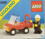 Lego 6505 Fire Chief's Car
