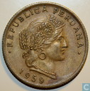 Peru 20 centavos 1959 (without AFP)