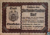 Odenkirchen 500 000 Mark Germany 1923