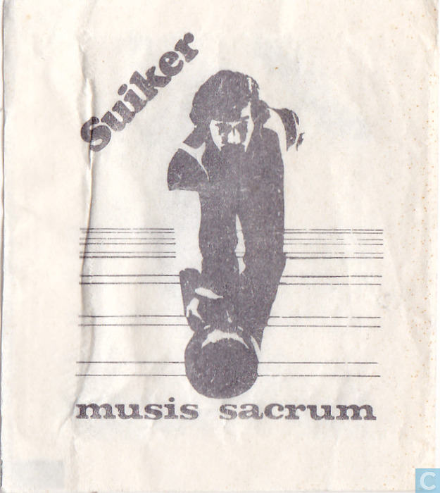 Musis sacrum sachet catawiki - Collectionneur de sucre ...