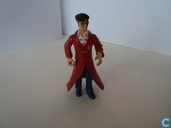 Harry Potter with long red coat