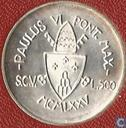 "Vatican 500 lire 1975 ""Holy Year - Forgiveness"""