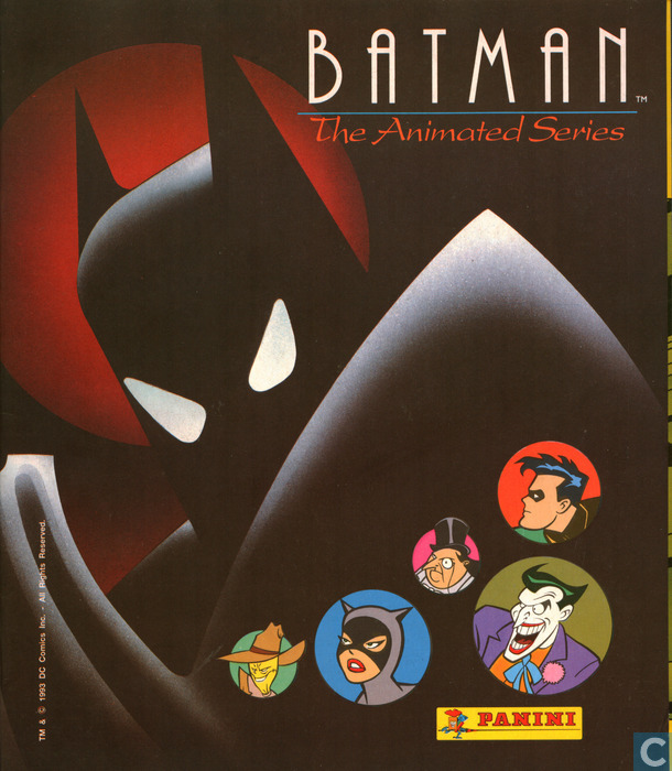 batman the animated series panini film en tv series
