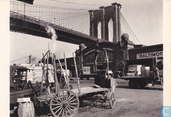 Brooklyn Bridge, with pier 21, Pennsylvania R.R., 1937