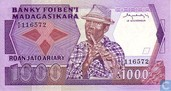 Madagaskar 1 000 Francs