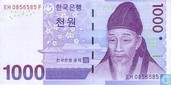 1,000 Won South Korea