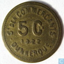 Dunkerque 5 centimes 1922