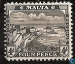 Postage Stamps - Malta - King George V