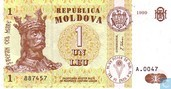 Moldavie 1 Leu 1999