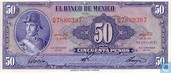MEXIQUE  50 Pesos