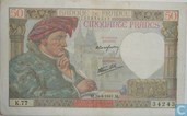 France 50 Francs  Jacques Coeur1941