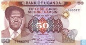 Ouganda 50 Shillings ND (1985)