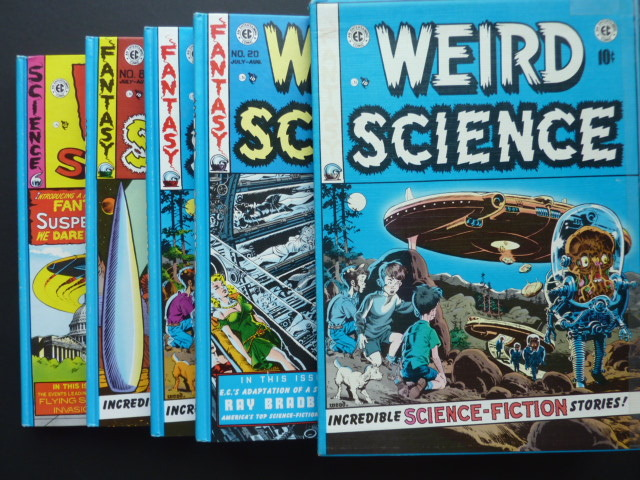 The complete EC library 1 - Box - Weird Science box met 4 delen - (1980)