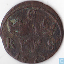 Sweden 1/6 öre 1673 (without star in date)