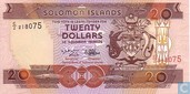 SALOMON ISLANDS 20 Dollars