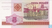 Billets de banque - Belarus National Bank - Rouble Belarus 5