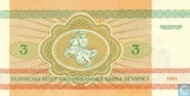 Billets de banque - Belarus National Bank - 3 Rouble Belarus
