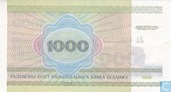 Billets de banque - Belarus National Bank - Rouble Belarus 1000