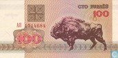 Bankbiljetten - Belarus National Bank - Wit Rusland 100 Roebel