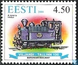 100 years railroad Viljandi-Tallin